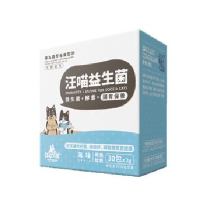 汪喵 腸胃益生菌-南美魷魚(2g*30包/盒)