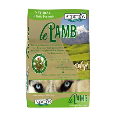*Addiction自然癮食-全齡犬野牧羊肉454g