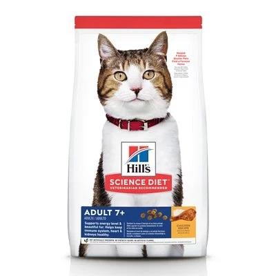 Hill\s成貓7+活力長壽配方3. 5kg