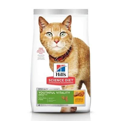 Hills青春活力(成貓七歲以 上)雞肉+米3磅