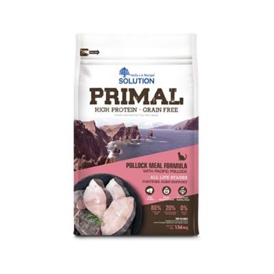 NEW 耐吉斯源野高蛋白無穀全齡貓鱈魚配方 3磅