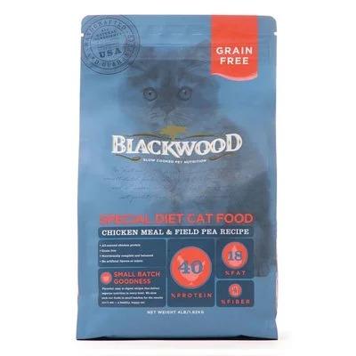 柏萊富特調無穀全齡貓4磅(雞肉+豌豆)