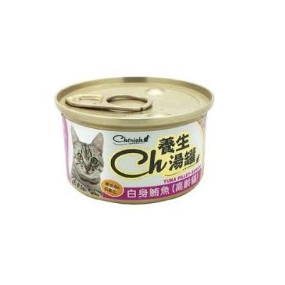 CH養生湯罐80g白身鮪魚(高齡貓)
