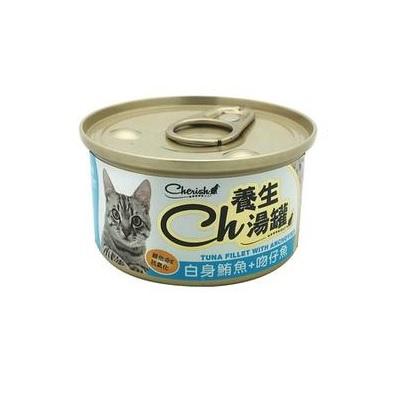 CH養生湯罐80g白身鮪魚+吻仔魚