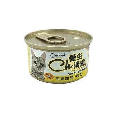 CH養生湯罐80g白身鮪魚+鴨肉