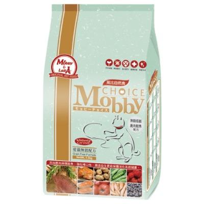 莫比愛貓無穀鹿肉+鮭魚1.5kg