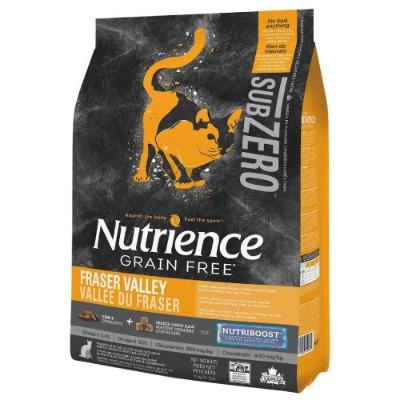 紐崔斯SUBZERO頂級無穀貓+凍 乾-火雞+雞肉+鮭魚1.13kg