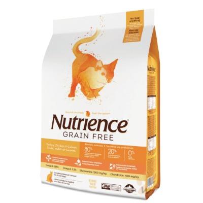 紐崔斯無穀養生貓-雞肉+火雞+鯡魚1.13kg