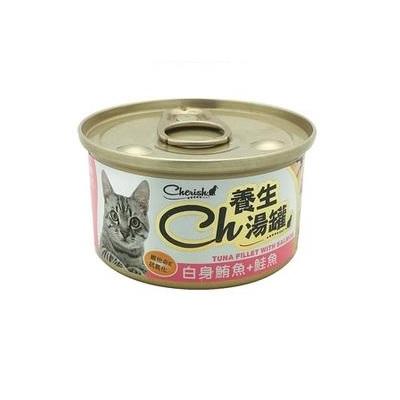 CH養生湯罐80g白身鮪魚+鮭魚