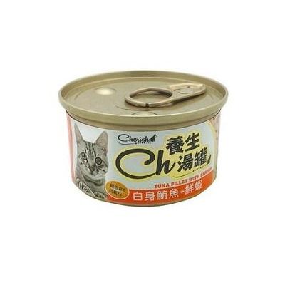 CH養生湯罐80g白身鮪魚+鮮蝦