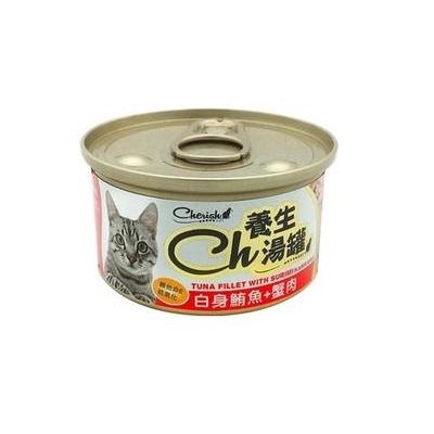 CH養生湯罐80g白身鮪魚+蟹肉