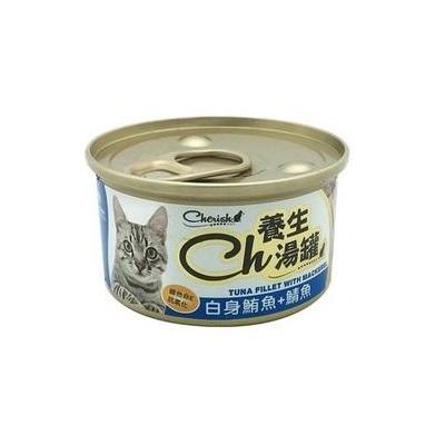 CH養生湯罐80g白身鮪魚+鯖魚