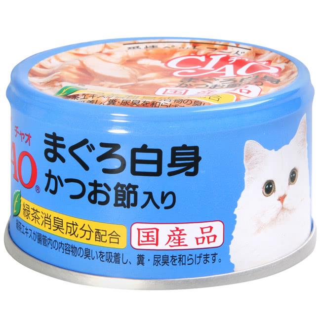 CIAO旨定罐85號-鮪+柴魚片85g