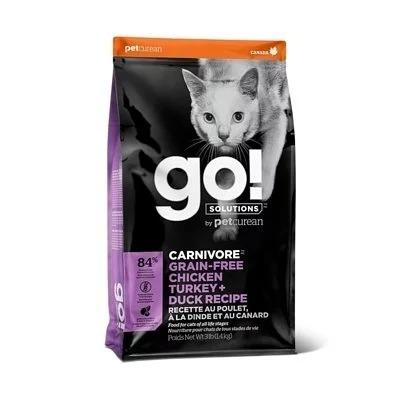 GO!四種肉無穀全貓糧8磅