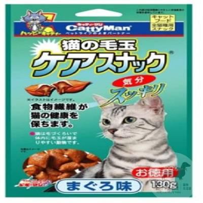 Cattyman貓用潔牙化毛餅乾(鮪魚)130g
