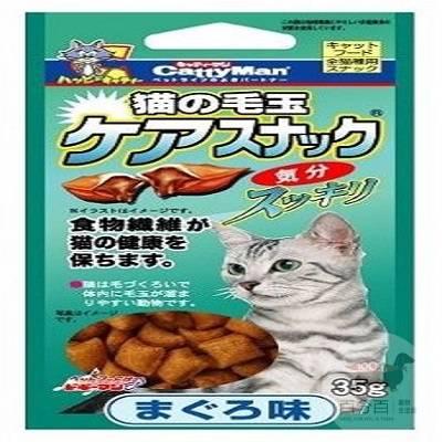 Cattyman貓用潔牙化毛餅乾(鮪魚)35g