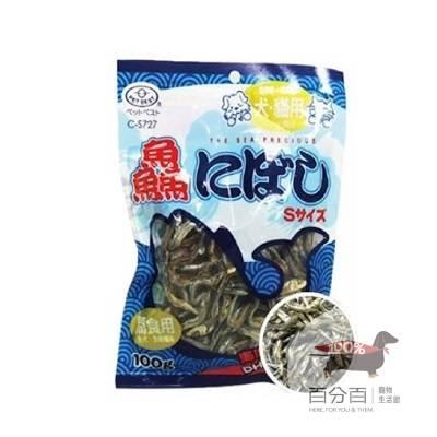 PET BEST 鑫犬貓專用減鹽丁香魚乾100g