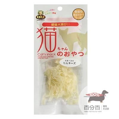 日本MU貓咪點心-鱈魚起司8g
