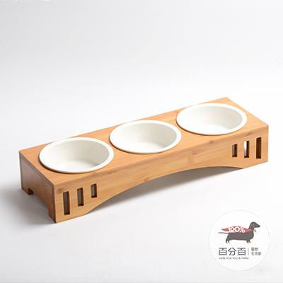 拱形三碗瓷碗