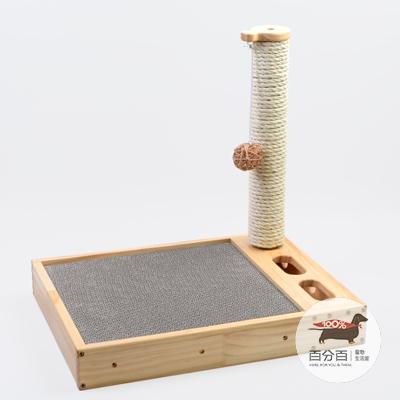 方形瓦楞紙箱爬架(白麻)