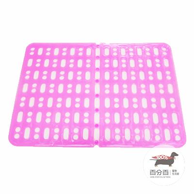 二合一腳踏墊-粉色
