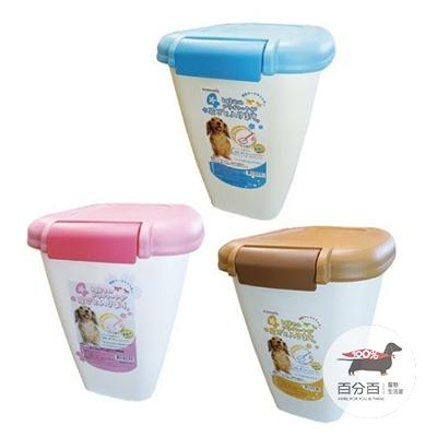 阿曼特飼料桶4kg裝-粉藍