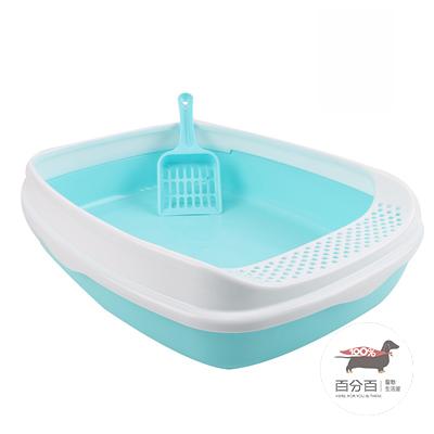 貓砂盆 藍色(中)