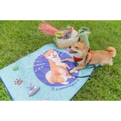 柴犬Nana和阿楞的一天野餐墊
