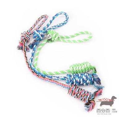 繩結玩具-長尾棉繩