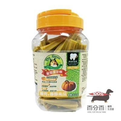 The Green星型潔牙棒-雞肉+南瓜500g