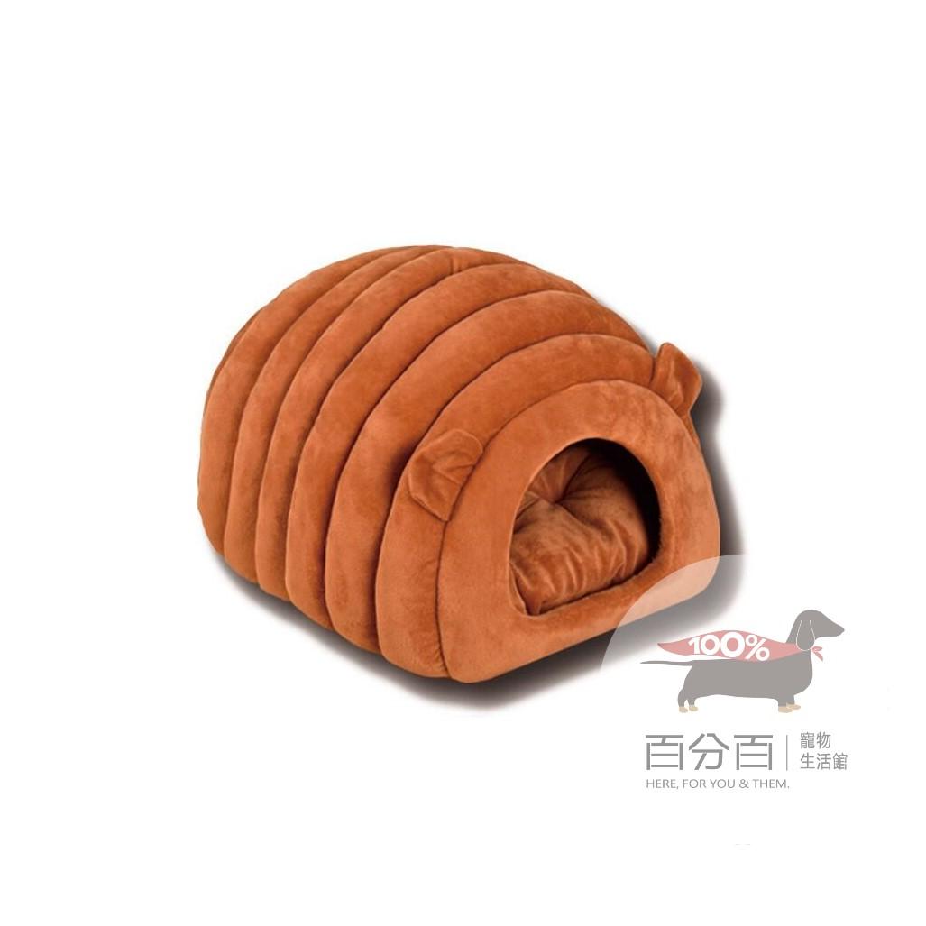 冬季保暖毛毛蟲窩(紅棕色)