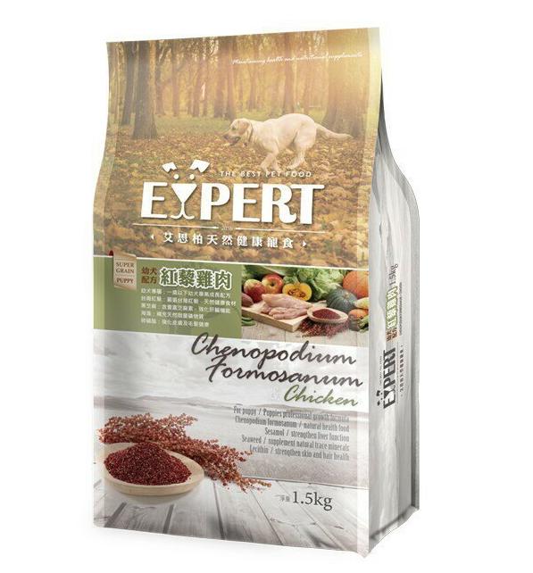 艾思柏-幼犬專用配方-紅藜雞肉 1.5kg