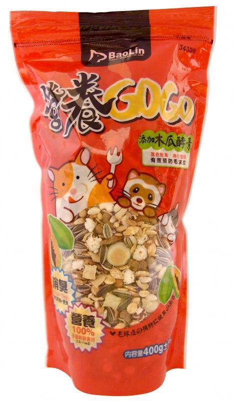 營養GOGO木瓜酵素鼠食400g-紅
