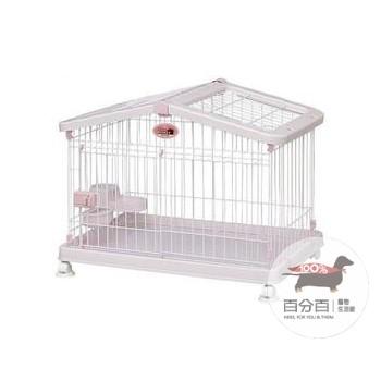 *HCA800屋型貓狗籠-桃
