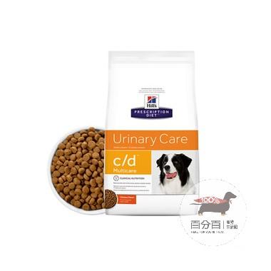 Hill\s犬c/d泌尿道處方8.5磅(3.85kg)