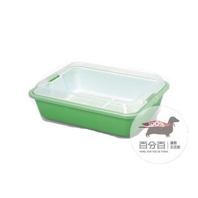 670A水晶貓便盆-綠