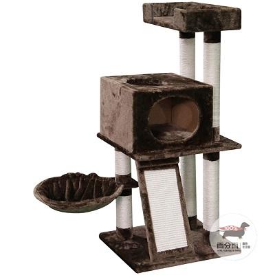 寵愛物語-貓窩溜滑梯貓跳台 CT64