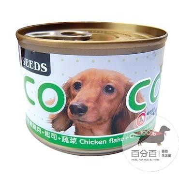 COCO機能plus大狗罐-雞肉+起司+蔬菜160g
