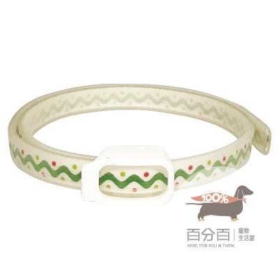 Ohh-Oring驅蚤項圈-綠圖騰-50cm