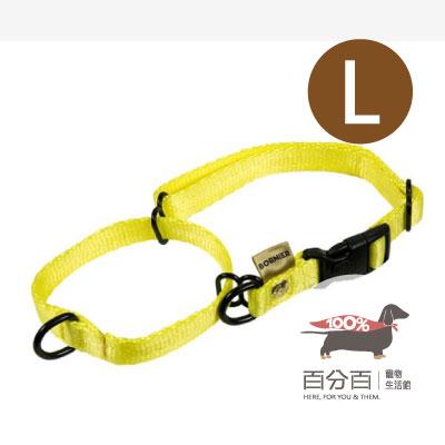TN-兩用快扣項圈(L)黃色