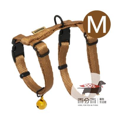 TN-貓胸背帶(M)咖啡色