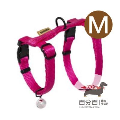 TN-貓胸背帶(M)桃紅色