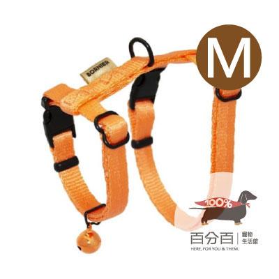TN-貓胸背帶(M)橘色